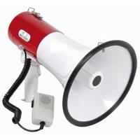SKYTRONIC Megafoon 30W met sirene