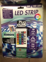 LED STRIP 5 M /150 LED  KOMPLETE SET