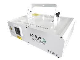 IBIZA LAS1000 RGB